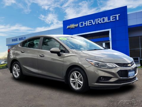 Certified Pre-Owned 2018 Chevrolet Cruze LT FWD 4D Sedan