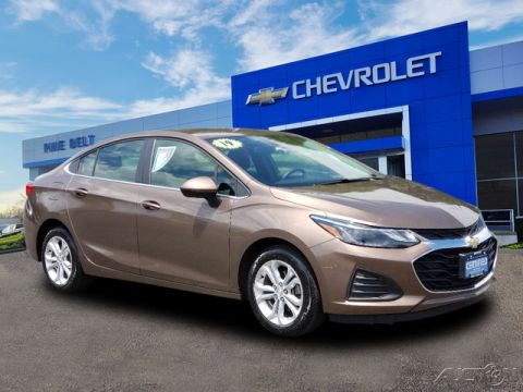 Certified Pre-Owned 2019 Chevrolet Cruze LT FWD 4D Sedan