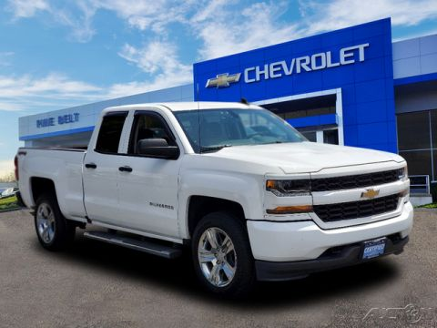 Certified Pre-Owned 2017 Chevrolet Silverado 1500 Custom 4WD 4D Double Cab