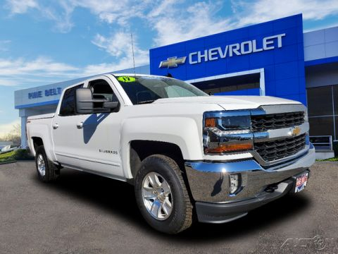 Certified Pre-Owned 2017 Chevrolet Silverado 1500 LT 4WD 4D Crew Cab