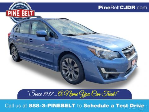Pre-Owned 2016 Subaru Impreza 2.0i Sport Limited AWD Hatchback